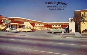Townhouse TraveLodge, 444 West MacArthur Blvd., Oakland, California